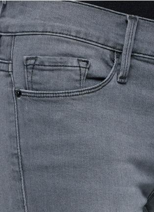 Detail View - Click To Enlarge - Frame Denim - 'Le Skinny de Jeane' Satine jeans