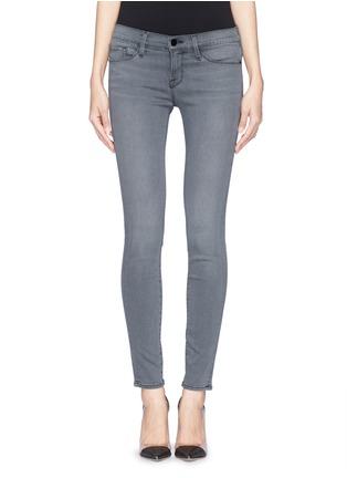 Main View - Click To Enlarge - Frame Denim - 'Le Skinny de Jeane' Satine jeans