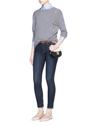 Figure View - Click To Enlarge - Frame Denim - 'Le Skinny de Jeane' Queens Way jeans