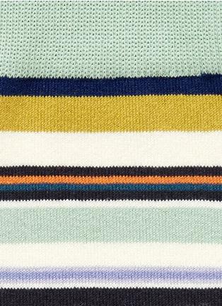 细节 - 点击放大 - PAUL SMITH - 彩色条纹袜子