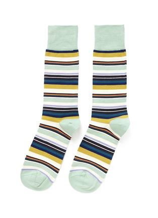 首图 - 点击放大 - PAUL SMITH - 彩色条纹袜子