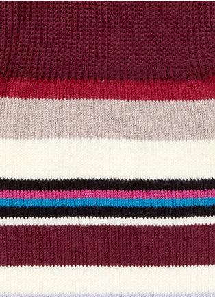 Paul Smith-Variegated stripe socks