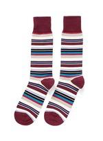 Variegated stripe socks