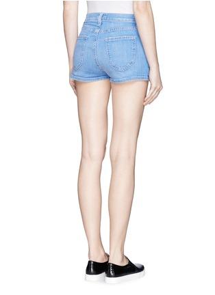 Back View - Click To Enlarge - Current/Elliott - 'The Highwaist' cut off denim shorts
