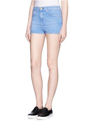 Front View - Click To Enlarge - Current/Elliott - 'The Highwaist' cut off denim shorts