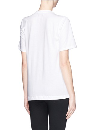Back View - Click To Enlarge - MARKUS LUPFER - 'Lemon Smacker Lip' sequin Alex T-Shirt