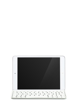 Main View - Click To Enlarge - LOGITECH - Ultrathin iPad mini keyboard cover - White
