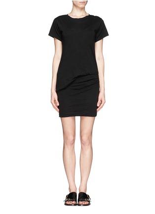 Main View - Click To Enlarge - Theory - 'Toasta' layered draped dress