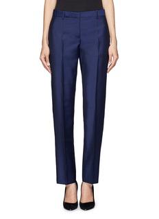 ACNE STUDIOS'Super' wool-mohair cropped suit pants