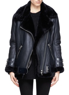 ACNE STUDIOS 'Velocite' lamb shearling leather jacket
