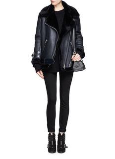 ACNE STUDIOS'Velocite' lamb shearling leather jacket