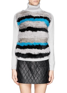 OPENING CEREMONY 'Heather' Striped Turtleneck Sweater
