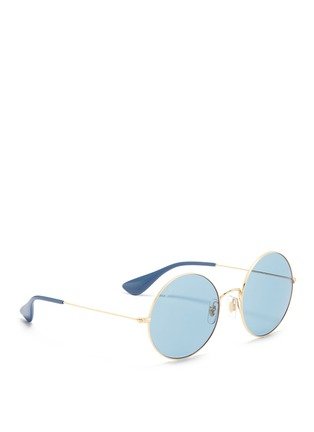 Figure View - Click To Enlarge - Ray-Ban - 'Ja-Jo' metal round sunglasses