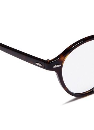 Detail View - Click To Enlarge - Ray-Ban - 'RB7118' tortoiseshell plastic optical glasses
