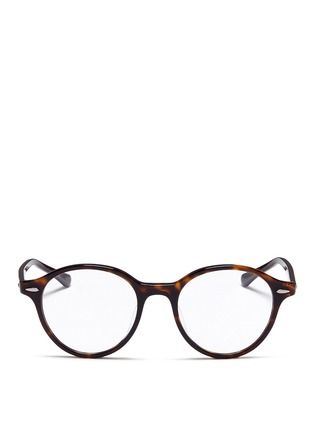 Main View - Click To Enlarge - Ray-Ban - 'RB7118' tortoiseshell plastic optical glasses
