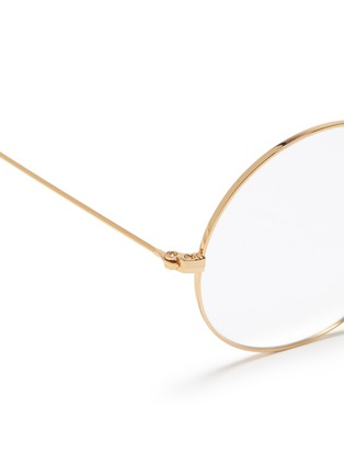 Detail View - Click To Enlarge - Ray-Ban - 'Ja-Jo' metal round optical glasses