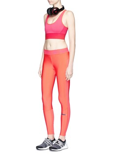 Adidas By Stella Mccartney'The Seamless' climalite® sports bra