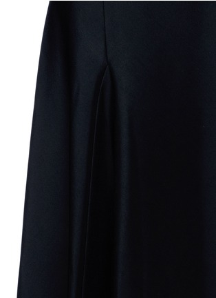 Detail View - Click To Enlarge - Victoria Beckham - Crepe flare dress