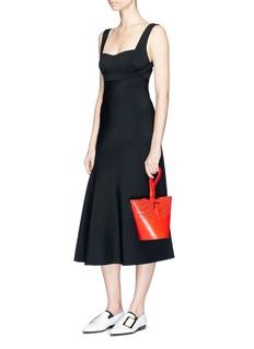 Victoria BeckhamCrepe flared dress