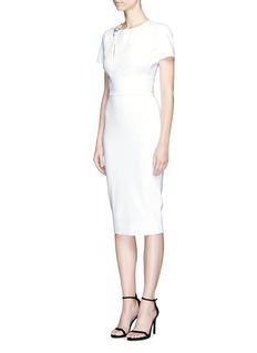 Victoria BeckhamFloral convertible front jersey dress
