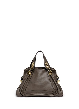 Back View - Click To Enlarge - Chloé - 'Paraty' medium leather bag