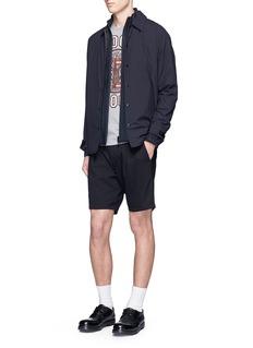 NanamicaStretch twill shorts