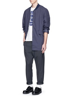 Nanamica'Ground' taffeta coat