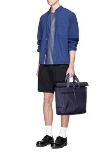 NanamicaRoll top CORDURA® twill briefcase