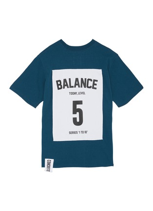Main View - Click To Enlarge - Studio Concrete - 'Series 1 to 10' Unisex T-shirt - 5 Balance