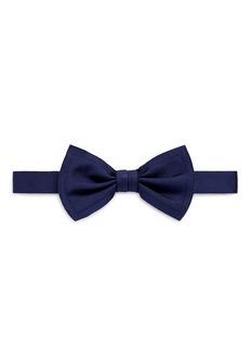 LanvinRaw edge silk bow tie