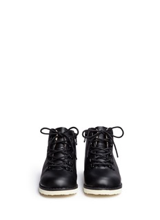 AKID 'Jasper' leather toddler boots