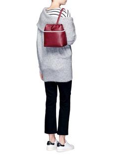 KaraSmall pebbled leather backpack