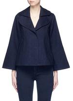 Flare sleeve denim jacket