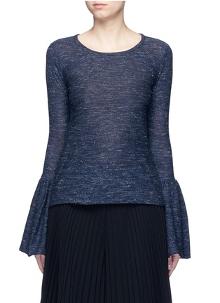 Co - Bell cuff wool blend sweater