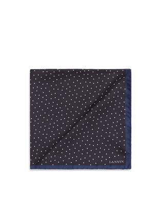 首图 - 点击放大 - LANVIN - 小波点印花真丝袋巾