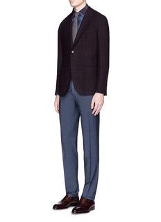 BoglioliWoven virgin wool-silk pants