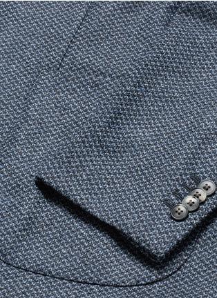 - Boglioli - 'K-Jacket' wool-cashmere herringbone soft blazer