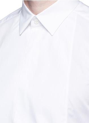Detail View - Click To Enlarge - Boglioli - Bib front cotton tuxedo shirt