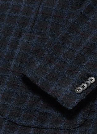 - Boglioli - 'K-Jacket' check bouclé soft blazer