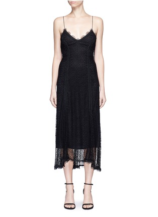 Main View - Click To Enlarge - Nicholas - Web lace camisole midi dress