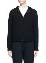 'Charlia' admiral crepe zip hoodie