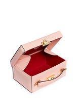 'Grace Box' small saffiano leather trunk