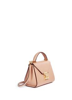 MARK CROSS'Hadley Baby' leather flap bag