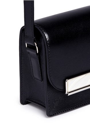 Detail View - Click To Enlarge - Hillier Bartley - Mini leather crossbody satchel