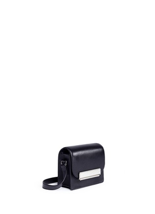 Front View - Click To Enlarge - Hillier Bartley - Mini leather crossbody satchel
