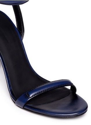 Detail View - Click To Enlarge - Alexander Wang  - 'Antonia' burnished leather sandals