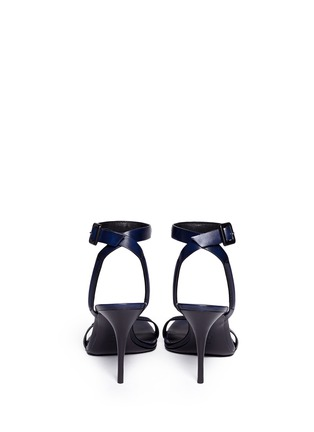 Back View - Click To Enlarge - Alexander Wang  - 'Antonia' burnished leather sandals