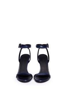 ALEXANDER WANG  'Antonia' burnished leather sandals