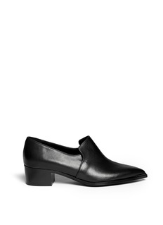 ACNE STUDIOS 'Jaycee' leather slip-ons