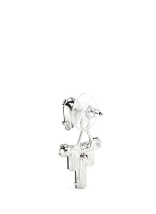 Detail View - Click To Enlarge - Joomi Lim - 'Pixel Perfect' crystal ear deco earrings